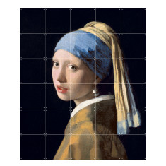 IXXI girl with a pearl earring wall art