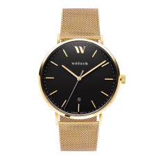 Versa 40 Watch In Gold with Mesh