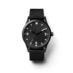 Sort of black glow mono watch