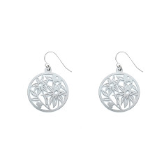 Flannel Flower Earrings