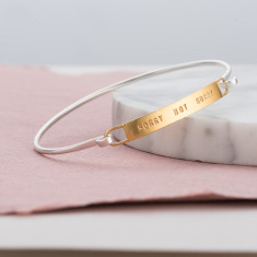 Personalised Bar Bangle
