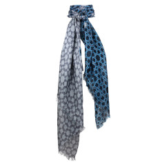 Astro Silk Geometric Printed Scarf (various colours)
