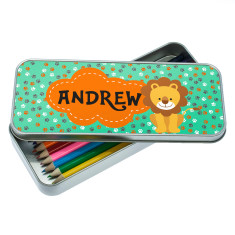 Happy Lion Pencil Case