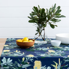 Tablecloth - Banksia Navy