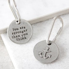 Anchor For Strength Key Ring