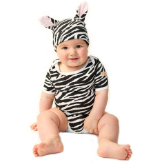 Zebra baby two piece set
