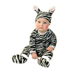 Zebra baby four piece set