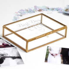 Best Day Ever Glass Keepsake Box