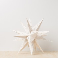 Moravian star decoration