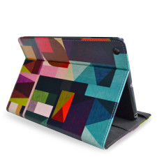 Kaku Geometric iPad Tablet Folio Case