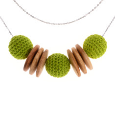 Elegance nature necklace by Mon Bijou (various colours)