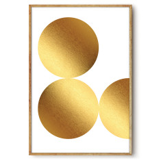 Luxe Gold wall art print