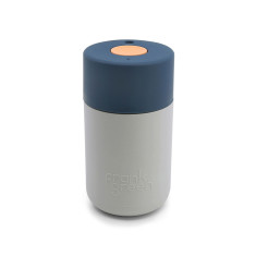 Frank Green Smart Cup 12oz - Harbour Mist / Sailor Blue / Dahlia Coffee Cup