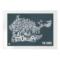 Sydney Shire tea towel