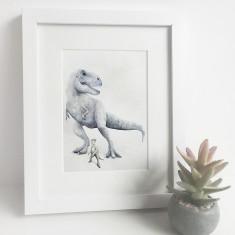 Tyrannosaurus Rex Dinosaur Print T-Rex