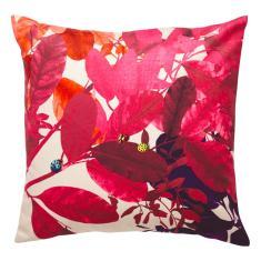 Ghost Fuchsia cushion