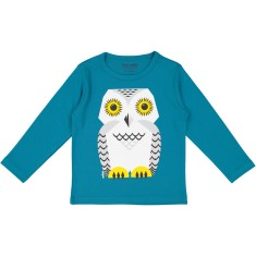 Snow Owl long sleeved T-shirt