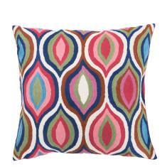Chakra Love hand loomed woollen cushion cover