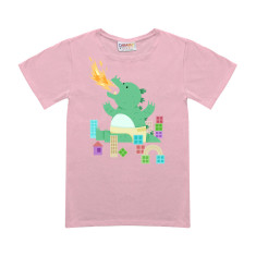 Zilly girls' t-shirt in pink