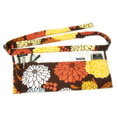 Wrapbag in zinnias