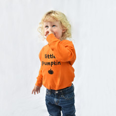 Little Pumpkin Halloween Children's Sweatshirt Jumper