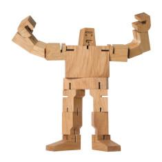 Wooden Guthrie Cubebot