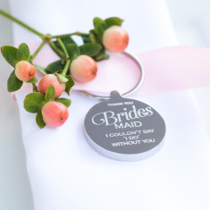 Bridesmaid Wedding Keyring