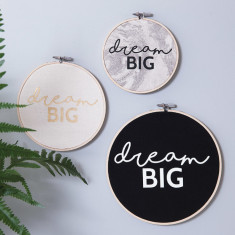Personalised 'Dream Big' Wall Art