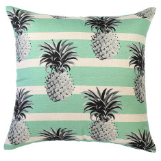 Mono Pineapples Aqua Cushion (various sizes)