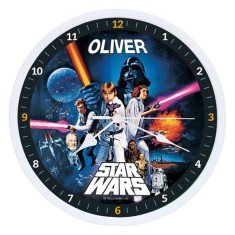 Personalised Star Wars Clock