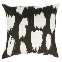 Indoor Cushion in Black & White Animal