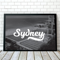 Sydney Travel Art Print