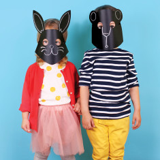 DOIY chalkboard masks (set of 10)