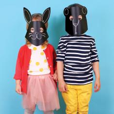 DOIY chalkboard masks (set of 10)