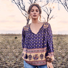 Moondancer Chakri folk blouse