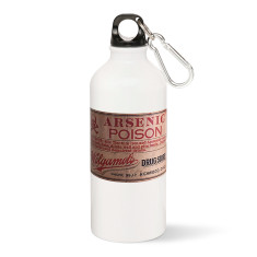 Arsenic Poison Label Water Bottle