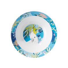 Cocky melamine salad bowl