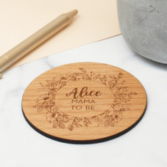 Personalised Mama To Be Coaster