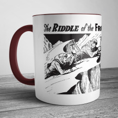 Retro Illustration Mug: The Riddle of the Frozen Stairway