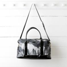 Black Ink Weekender Bag