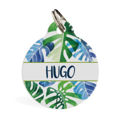 Personalised pet ID tag standard (palm breeze)