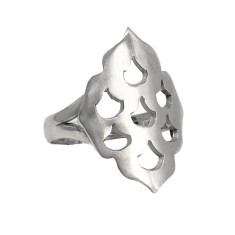 Screen Goddess Ring In Silver
