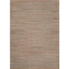 Aqua handmade natural fiber rug