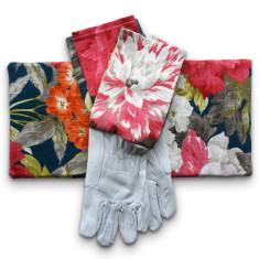 Gardener's kneeling pad & gloves in Queens Favourite