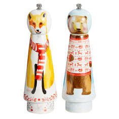 Bear & Fox Salt & Pepper Grinders