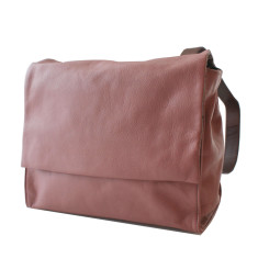 Leather Deckhand Satchel/Backpack - Mauve