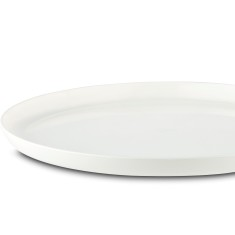 Sorona unbreakable medium plates with non-slip ring (pack of 4, various colours)