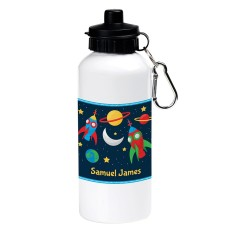 Personalised space adventure drink bottle