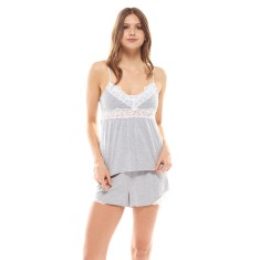 Essential Cami Grey Marle