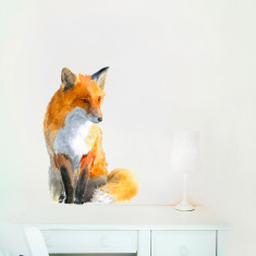 Fox Wall Sticker (Medium)